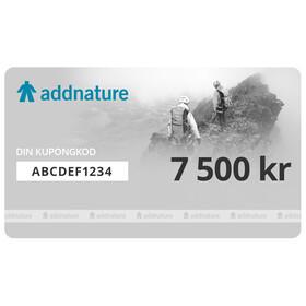 Addnature presentkort 7 500 kr